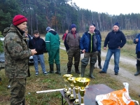II tura Spinningowych Mistrzostw Koła - Wykrot 06.11.2016 r.