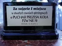 Puchar Prezesa koła nr 70 - Różan 2 październik